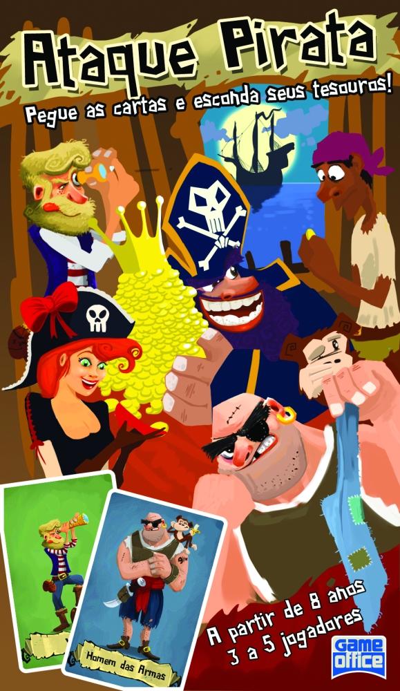 Brinquedo: Ataque Pirata (jogo de cartas)  (6/6)