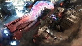 Titulo: Ghost Caught_ 2008 Tema: Uma gigantesca nave de defesa da terra cai na cidade trazendo um tipo de fantasma espacial.