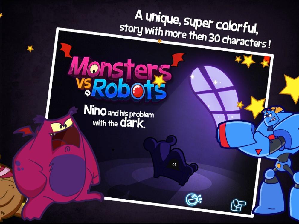 Monstros vs Robôs - Livro interativo + Games (4/6)