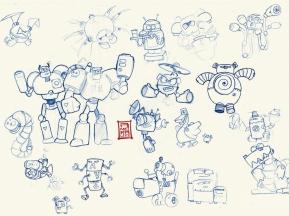 Conceptual Art Robots