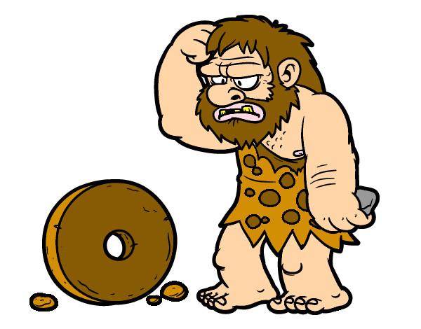 creacion-de-la-rueda-culturas-prehistoria-pintado-por-franking-9802891